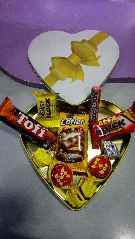 Corazon C/ Chocolates